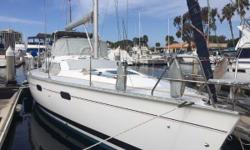 Well equipped and meticulously maintained, Alter 'Tudes has many upgrades and replacements including a new fridge & freezer, air-conditioning, and new heads. She has custom cabinets on the port side and a workbench in the v-berth. The Hunter Passage