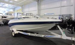 1994 Larson 174 SEI 1994 LARSON 174 SEi!A 175 hp Volvo V6 inboard/outboard engine w/stainless counter rotating dual props powers this fiberglass bowrider. Features include: walk-thru windshield, passenger console glove box, Boss AM/FM CD