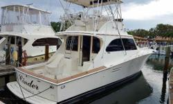 (LOCATION: North Miami FL) The Post 46 Sport Fisherman is a big, brawny, fishing machine with great styling, outstanding accommodations, and exceptional performance. This is a big convertible with roomy flybridge and versatile cockpit. The flybridge