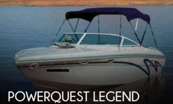 Actual Location: Elephant Butte, NM - Stock #102678 - If you are in the market for a high performance, look no further than this 1994 Powerquest 257 Legend, just reduced to $17,500.This boat is located in Elephant Butte, New Mexico and is in great
