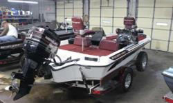 1994 Ranger 482VS with a Mercury 150XR6 and Custom Ranger Trailer 1994 Ranger 482VS with a Mercury 150XR6 and Custom Ranger Trailer is new to our consignment boats. Options include: Cover, Spare Tire, Brakes, has newer controls, Lowrance X70, 2 Fold down