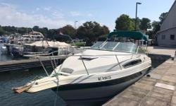 Very Clean cruiser.  Great for hanging at the dock with AC or cruisin the lake with friends.  Good condition, especially for the age.  Roomy cockpit and spacious cabin with galley, head and sleeping for four. No trailer.  MORE PICTURES