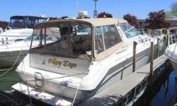 (CURRENT OWNER OF 3-YEARS) 1994 SEA RAY 440 SUNDANCER OFFERS AN EXCELLENT CRUISING PLATFORM -- PLEASE SEE FULL SPECS FOR COMPLETE LISTING DETAILS. Freshwater / Great Lakes boat since new this vessel features Twin Caterpillar 3116 300-hp Diesel Engine's