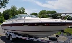Awesome 24 foot boat loaded with options and accessories to make it a great day and overnight boat! Trades considered. Engine(s): Fuel Type: Gas Engine Type: Inboard Quantity: 1