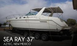 Actual Location: Aztec, NM - Stock #082042 - If you are in the market for a cruiser, look no further than this 1994 Sea Ray 370 Sundancer, just reduced to $51,900 (offers encouraged).This vessel is located in Aztec, New Mexico and is in great condition.