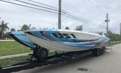 Freedom US1 has just undergone a extensive refit and is now being offered for sale exclusively by FB Marine Group.This is perhaps the most photographed Skater ever built and has now been updated with absolutely NO expense spared! Well over $200,000 spent
