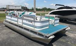 This is a great pontoon for fishing or getting on the water for the first time. Trades considered. Engine(s): Fuel Type: Gas Engine Type: Outboard Quantity: 1