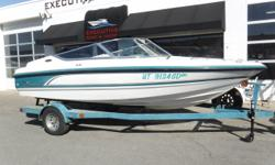 MerCruiser 4.3 LX, V6 engine, no hour meter MerCruiser Alpha One sterndrive Metal Craft 1-axle trailer w/surge brakes, custom rims & spare tire New in 9/2018: u-joint, exhaust bellows, starter, fuel pump, intermediate shift cable, & rebuild & reseal upper