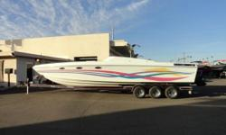 1995 Baja MarineCaliber 32 Payments as low as $272 / mo. * Speed changes you! Baja is committed to using the most advanced technology to develop breakthrough designs and revolutionary engineering. Lake ready boat in excellent condition. Only 679