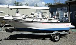1995 Boston Whaler Dauntless 13 $6900 13 Ft. Center Console, 2007 50 HP Yamaha 50TLR 2-Stroke, Full Boat Cover, Captains Chair, Cooler Seat, Live Well, 1995 Wesco Trailer, Above Average