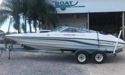 BLAZING FAST 1995 Caravelle Interceptor 232 Was $7,250, Now ONLY $6500 Caravelle Interceptor 232 bow rider. Volvo 5.0 v8 and outdrive Tandem axle galvanized trailer. This is a great starter boat for someone wanting to spend the weekend on the water!