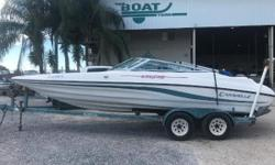 MAKE OFFER 1995 Caravelle Interceptor 232 Was $7,250, Now ONLY $6500 Caravelle Interceptor 232 bow rider. Volvo 5.0 v8 and outdrive Tandem axle galvanized trailer. This is a great starter boat for someone wanting to spend the weekend on the water!