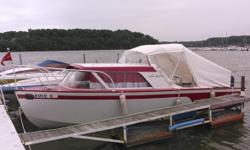 1959 Lone Star Cruiseliner Cabin Cruiser A fully restored 23.5 foot long 1959 Lone Star Cruiseliner Cabin Cruiser model in Excellent condition All Aluminum hull with several Options Includes a Dubble-Axle Tandem trailer as well! All USCG inspected Brand