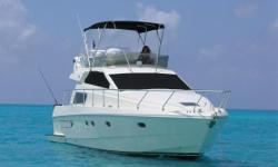 Don't miss this opportunity to buy this RARE 48' 135 Ferretti. Unmistakably Ferretti created a work of art with the 48'. Her striking lines illustrate perfect harmony and practical function. Unrivaled attention to detail and extremely well designed