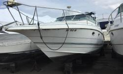 The 1995 Larson Cabrio 280 is a great mid-sized cruiser with a popular floor plan to make your weekend enjoyable. The boat is driven by a 7.4L Volvo Penta engine with Gi DP outdrive. This dealer owned boat could use a good scrubbing, some canvas, and a