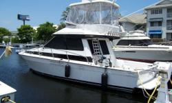 A versatile design, the 38' Mediterranean Convertible is aperformance Sportfish model with a modified deep-V hull that is equally given to tournament fishing, diving, or family cruising! The styling is up-to-date with Euro-style touches, including a