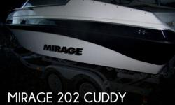 Actual Location: Tacoma, WA - Stock #077948 - NEW STEREO SYSTEM, NEW BATTERIES, NEW MOORING COVER, NEW OUTDRIVE AND MUCH MORE!!The Mirage 20 has classic power lines that look fast in the water. A wide beam makes for a solid boat in chop and with a 5.0L V8