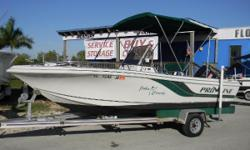 1995 Pro-Line 19cc with a 1998 Johnson 150 Nominal Length: 19'
