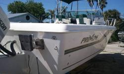 1995 Pro Line 231 W/A 1995 Johnson J200 Boat and Motor Includes VHF and Depth Finder Come see it in person at 13323 US Hwy 19, Hudson, FL 34667 Or call 727-863-5409 with any questions.