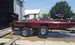 1995 Ranger R72 Boat is ready to go to the lake This boat is Red with Gray interior Fiberglass exterior Equipped with a single gas engine Trolling motor and Depth Ready to go Please inquire withing for details Located in Tonganoxie KS Financing Nationwide