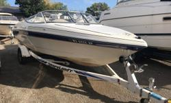 Affordable bow rider in nice condition. Trades Considered. General Options BATTERY (1) BILGE BLOWER BILGE PUMP BIMINI TOP BOAT SOLD AS IS BOW COVER CASSETTE CONTROLS - SIDE ELECTRICAL SYSTEMS - 12 VOLT SKI TOW ST1278B STEERING - HYDRAULIC STEREO - AM/FM