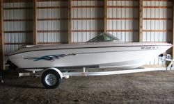 Mercruiser 4.3 V6 175 Clean runabout in good condition. Includes trailer. Nominal Length: 19' Stock number: N/A