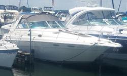 MARINE MECHANIC OWNER! This Sea Ray 330 Sundancer is owned by a marine mechanic and is very well maintained. She has new props, rudders, struts, driveshafts and seals. There are only 120 hours, all freshwater, on 454's with V-drives. In the winter, she is