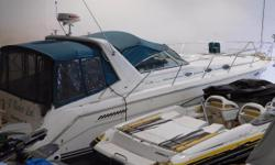 Motivated Seller! For those who enjoy the luxury and refinement but still want fishability, the Sea Ray 370 Express Cruiser is for you. You'll find the Sea Ray 370 to be a fast boat, even with the tower. Nominal Length: 37' Length Overall: 39.4' Length Of