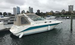 Excellent, well maintained, clean vessel with all lines, fenders, safety equipment and life jacket, ready to enjoy. Non-smoker. Can't beat this low cost entry to boating. Camper canvas makes this boat a party place while others stay home. Recommended