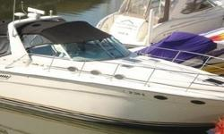 1995 37' Sea Ray Express Cruiser -- FRESH WATER Since New -- Excellent Condition!Only 670 Original Hours on Twin 7.4L 340HP Mercruiser Engines... Lots of Extras Including A/C & Heat, 2 LCD TV's w/ 5.1 Surround Sound, High End Cockpit Stereo System w/