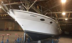 Clean, fresh water, very popular Sea Ray 370 Sundancer. Radar & Chart Plotter, windlass and very clean. Trades considered. CANVAS BIMINI TOP MOORING COVER (BLACK) SIDE/AFT CURTAINS DECK ANCHOR W/LINES ELECTRIC WINDLASS FILLER CUSHIONS FORWARD ARCH