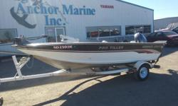 1995 SmokerCraft 160 Pro Tiller 2015 Yamaha T60LB (31 hours - Y.E.S. warranty through June 2021)1995 Yachtclub single axle roller trailer Minnkota autopilot/12V trolling motor Lowrance X653 fishing seats3 rod holders Engine(s): Fuel Type: Gas Engine Type: