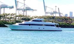 Tarrab Yachts has been building yachts for more than 40 years and is Argentinas premier builder of fiberglass yachts.  Each is custom made of solid fiberglass hull structures and they deliver a level of spaciousness and comfort thats become their