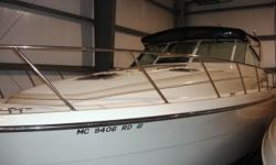 Feature rich Mid-Cabin Express, high quality build. Two heads, two staterooms makes it a traveling boat. Cummins power is more than enough. This is a boat worth seeing. Call for a viewing. Trades considered. CANVAS BIMINI TOP (BLACK) CAMPER CANVAS DECK