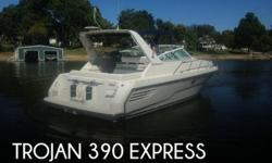 Actual Location: Afton, OK - Stock #083647 - If you are in the market for a cruiser, look no further than this 1995 Trojan 390 Express, just reduced to $45,000.This vessel is located in Afton, Oklahoma and is in great condition. She is also equipped with