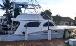 (LOCATION: Miami FL) This 56' Whiticar Sportfish is what big sport fishermen are all about. Custom designed and built to exacting specifications she represented the apex of sports fishermen. She handled well in good and bad seas and did it with