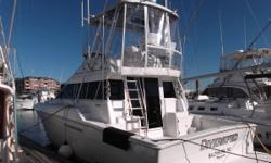 This is by far one of the nicest and best priced 41 Silverton Convertibles on the Market. You will not be disappointed. She has been maintained with an open wallet her whole life. Loaded with options that include Sat. TV, new interior. Raymarine C120