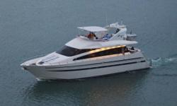 Don't miss this opportunity to buy this RARE 65' Pininfarina designed Azimut. Unmistakably Azimut has created a work of art with the 65'. Her striking rounded lines illustrate her perfect harmony and practical function. Unrivaled attention to detail