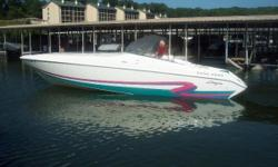 "1996 Baja 322 with twin Mercruiser 454 Mag MPI / 385 hp with Bravo 1 drives. LOA: 32' / Beam: 8'4"" / Weight: 7,300 pounds / Color: White / Hours: 733. One owner and well kept Baja 322. Dual batteries with switches and charging system, shore power with"