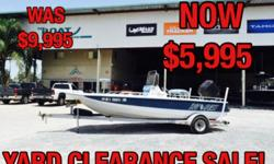 1996 Bay Quest 1800 Location: Marrero, LA, US ? Mercury 3.0L 225HP ? Single axle galvanized trailer With lots of power on a 18' boat you will have no problem racing out to the far spots before anyone else. Stock number: 7773
