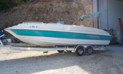 SOLD 1996 Bayliner Rendezvous 1996 Bayliner Rendezvous with Mercury 175hp outboard. Clean boat, carpet and canvas in great shape. Brand new lower unit in 2015. Once of the nicest Rendezvous left out there. Boat won't last! Trailer shown in photos is not