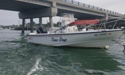 This is the tried and true 19' Boston Whaler Outrage III Hull. Some would say the best hull ever built by the Boston Whaler Company. This 1996 redesigned Outrage Hull was in production from 1996 through 1999, and became the Outrage 20 as wel as being