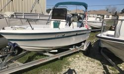 For sale is a 1996 Century 1800 Center Console. This boat comes equipped with a 2000 115 HP Yamaha. Serial Number- 6E5 L 326369 This boat also comes with a 2007 Starline Trailer Model# A1719CS The onboard fuel tank was bad in this boat so we added an