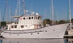 LONG RANGE RAISED PILOTHOUSE EXPEDITION STYLE TRAWLER If Bluewater exploration is your passion, then look no further. Custom built in Nova Scotia by Dixons Boat Builders Ltd, NAVIGATORis a rock solid all fiberglass Raised Pilothouse Expedition Style