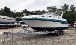 General Description The Four Winns 278 Vista is a maxi-cube pocket cruiser whose stylish appearance has kept her from showing her age since she went out of production in 1998. Like many family boats her size, her modified-V hull (with a keel pad) provides