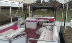 2000 model 60 hp Yamaha oil injected outboard Great starter boat. Plenty of room and seats are in great shape. Full cover and Bimini top. Engine runs good as well. Ask for Cole or send email to see or ask questions No trailer included in price Beam: 8 ft.