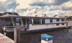 (LOCATION: Palatka FL) The Jamestowner Veteran 64 is a houseboat designed to be a vacation getaway or home with room to enjoy the fresh air and warm weather.Enjoy the view or change it when the urge comes. Theres space for everyone and everything.
