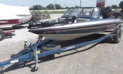1996 Javlin 379 FS fishing boat, powered by a 1996 Johnson 150 HP 2-stroke motor. This boat is in real nice condition, and will make a great boat for someone who likes to fish. It's big enough for the big lakes but, nimble enough for getting back