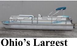 Buds Marine is Pontoonland- Ohios Largest Selection of Pontoons! 1996 JC Netpoon 244 Pontoon powered by Mariner 75hp 2-stroke Outboard Boatis priced without a trailer. Please call or email for trailer options and/or delivery options. Please