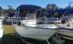 Bottom Paint, Bimini Top, Fuel Water Separator, Trailer Guides, Bow Rail, Lowrance Eagle Depth Finder & Jack Plate all included. Nominal Length: 17.7' Length Overall: 17.5' Engine(s): Fuel Type: Other Engine Type: Outboard Beam: 10 ft. 0 in. Stock number: